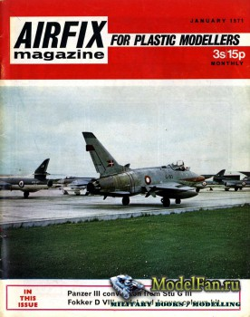 Airfix Magazine (January 1971)