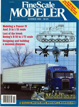 FineScale Modeler Vol.1 №4 (Summer) 1983