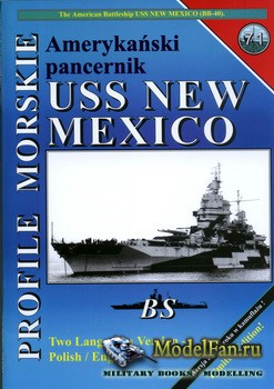 Profile Morskie 71 - USS New Mexico