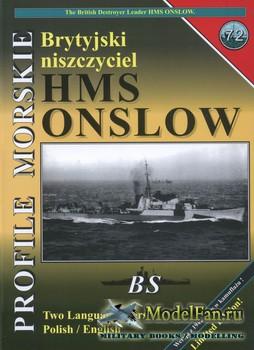 Profile Morskie 72 - HMS Onslow