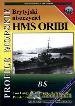 Profile Morskie 73 - HMS Oribi