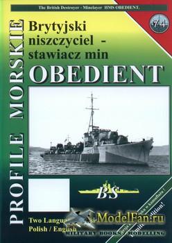 Profile Morskie 74 - HMS Obedient