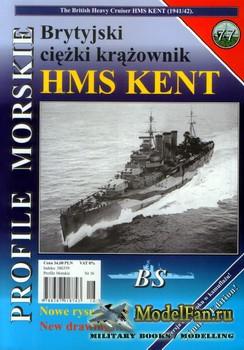 Profile Morskie 77 - HMS Kent