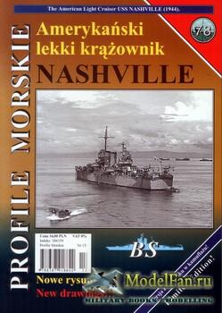 Profile Morskie 78 - USS Nashville