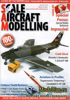 Scale Aircraft Modelling Vol.32 №5 (July 2010)