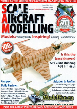 Scale Aircraft Modelling Vol.32 №6 (August 2010)