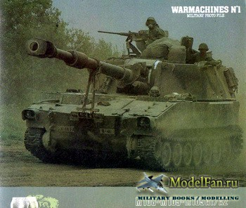 Verlinden Publications - Warmashines №1 - M108-M109-M109A1/A2