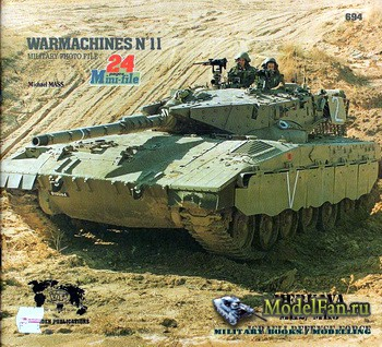 Verlinden Publications - Warmashines №11 - Merkava MK2/MK3: Israeli Defence ...
