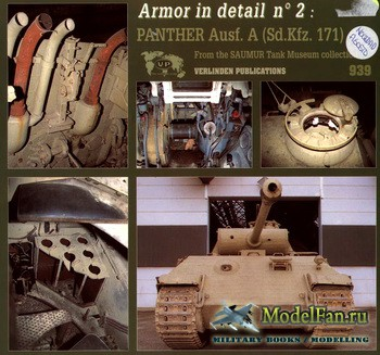 Verlinden Publications - Armor in Detail №2 - Panther Ausf.A (Sd.Kfz. 171)