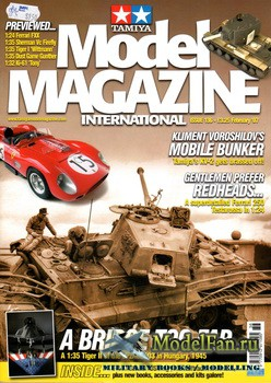 Tamiya Model Magazine International №136 (February 2007)