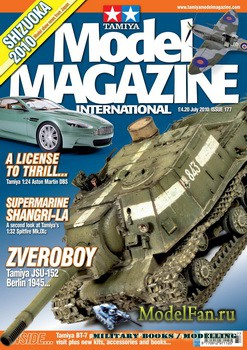 Tamiya Model Magazine International №177 (July 2010)