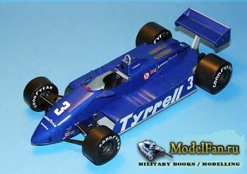 Tyrrell 011 - Michele Alboreto - Brazilian GP (1982)