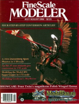 FineScale Modeler Vol.2 №5 (July/August) 1984