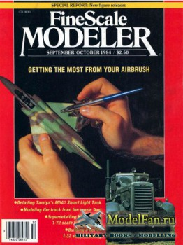 FineScale Modeler Vol.2 №6 (September/October) 1984