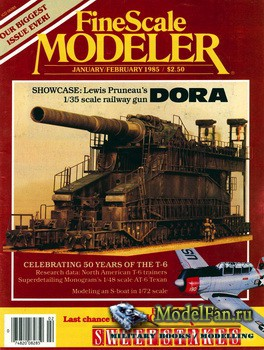 FineScale Modeler Vol.3 №1 (January/February) 1985