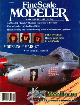 FineScale Modeler Vol.3 №2 (March/April) 1985