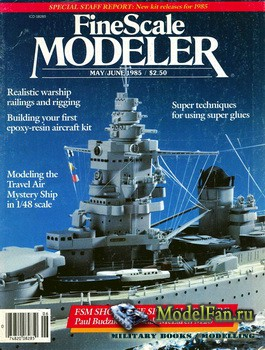 FineScale Modeler Vol.3 №3 (May/June) 1985