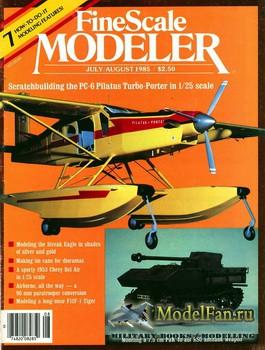 FineScale Modeler Vol.3 №4 (July/August) 1985