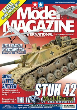 Tamiya Model Magazine International №183 (January 2011)
