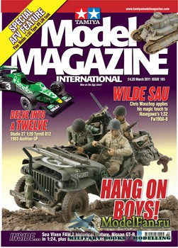 Tamiya Model Magazine International №185 (March 2011)