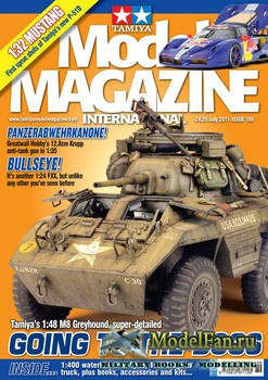 Tamiya Model Magazine International №189 (July 2011)