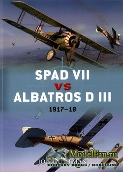 Osprey - Duel 36 - SPAD VII vs Albatros D III: 1917-18