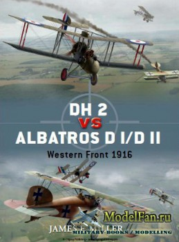 Osprey - Duel 42 - DH 2 vs Albatros D I/D II: Western Front 1916