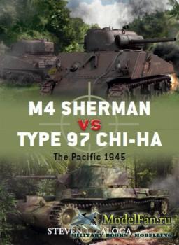 Osprey - Duel 43 - M4 Sherman vs Type 97 Chi-Ha: The Pacific 1945