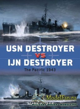 Osprey - Duel 48 - USN Destroyer vs IJN Destroyer: The Pacific 1943