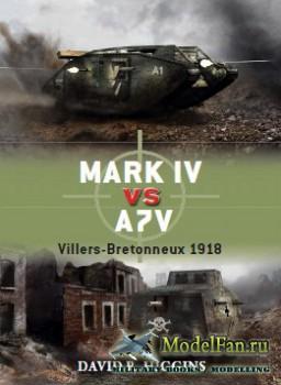Osprey - Duel 49 - Mark IV vs A7V: Villers-Bretonneux 1918