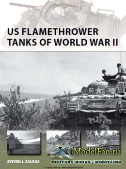Osprey - New Vanguard 203 - US Flamethrower Tanks of World War II