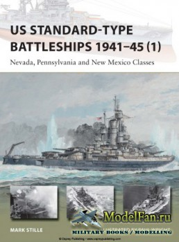 Osprey - New Vanguard 220 - US Standard-type Battleships 1941-45 (1): Nevad ...