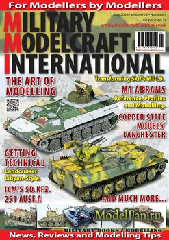 Military Modelcraft International (May 2018) Vol.22 №7