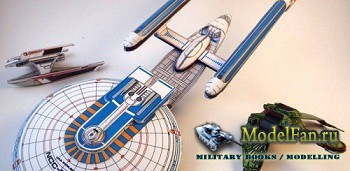 USS Excelsior, USS Grissom & Klingon Bird of Prey (Star trek III: The search for Spock)