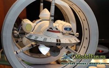 IXS Enterprise - концепт космического корабля NASA с варп-двигателем (David ...