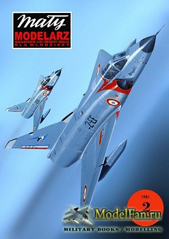 Maly Modelarz №2 (1981) - MP 550 ''Mirage III C'' ВВС Франции (Перекрас ...
