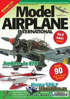 Model Airplane International №72 (July 2011)