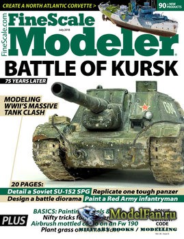 FineScale Modeler Vol.36 №6 (July 2018)