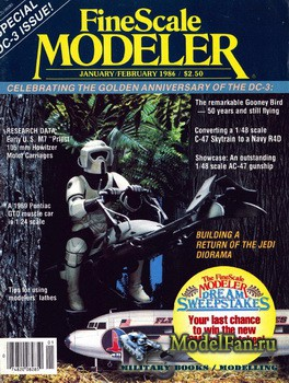 FineScale Modeler Vol.4 №1 (January/February) 1986