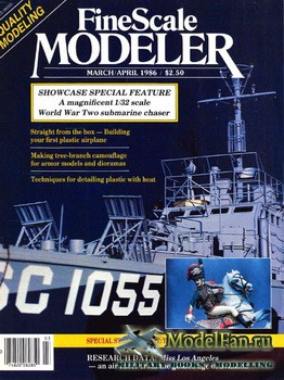 FineScale Modeler Vol.4 №2 (March/April) 1986