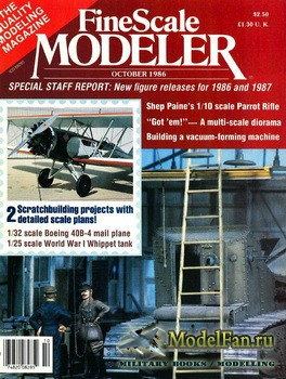FineScale Modeler Vol.4 №5 (October) 1986