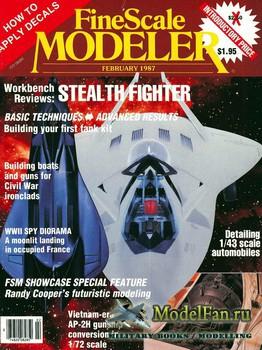 FineScale Modeler Vol.5 №1 (February) 1987