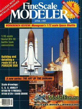 FineScale Modeler Vol.5 №2 (April) 1987