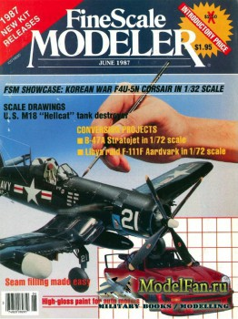 FineScale Modeler Vol.5 №3 (June) 1987