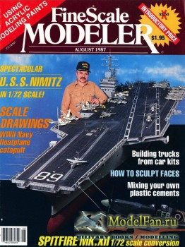 FineScale Modeler Vol.5 №4 (August) 1987