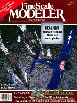FineScale Modeler Vol.5 №6 (December) 1987