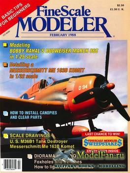 FineScale Modeler Vol.6 №1 (February) 1988