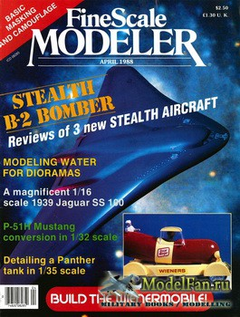 FineScale Modeler Vol.6 №2 (April) 1988