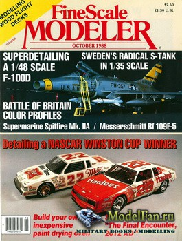 FineScale Modeler Vol.6 №5 (October) 1988