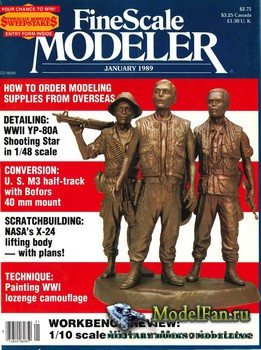 FineScale Modeler Vol.7 №1 (January) 1989